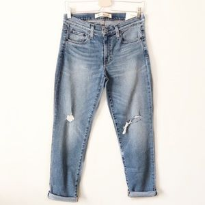 Gap Authentic Real Straight Mid Rise Distressed 30